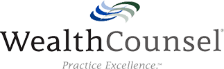 Logo Recognizing Miller Law Office, PLLC's affiliation with the Wealth Counsel